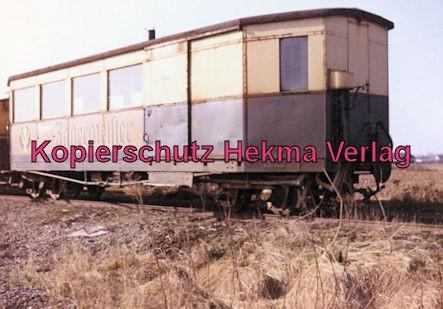 Mittelbadische Eisenbahn A. G. Schmalspur-Eisenbahn - Bühl - Kombinierter Pack- und Personenwagen