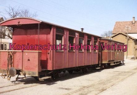 Mittelbadische Eisenbahn A. G. Schmalspur-Eisenbahn - Bühl - Personenwagen
