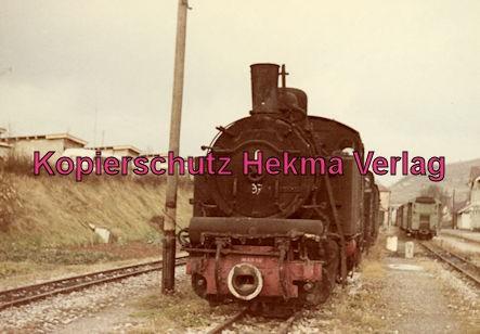 Bottwartalbahn Schmalspur-Eisenbahn - Bahnhof Beilstein - Lok
