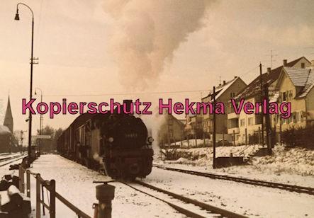 Bottwartalbahn Schmalspur-Eisenbahn - Lok 99 651 auf der Strecke