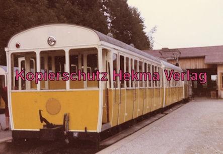 Wendelstein Zahnradbahn - Bahnhof Degerndorf - Dreiteiliger Zug