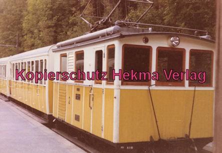 Wendelstein Zahnradbahn - Bahnhof Degerndorf - Zug