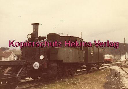 Gammertingen - Hohenzollernsche Landeseisenbahn A.G. - Bahnhof Gammertingen - Lok 11 erbaut 1911 von der Maschienenfabrik Eßlingen