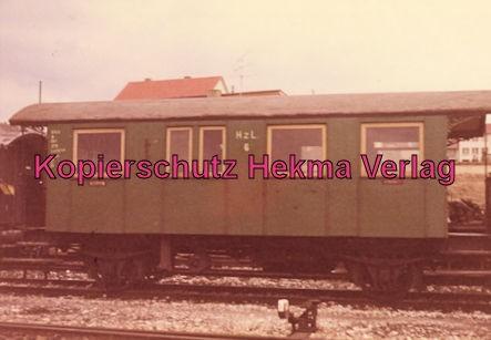 Gammertingen - Hohenzollernsche Landeseisenbahn A.G. - Bahnhof Gammertingen - Kleinbahnwagen
