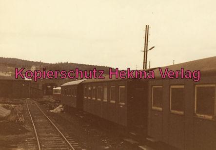 Gammertingen - Hohenzollernsche Landeseisenbahn A.G. - Bahnhof Gammertingen - Personenwagen