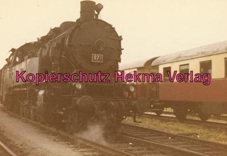 Teutoburger Wald - Gütersloh - Bahnhof Iburg - Sonderzug Lok 271 Erbauer Jung 1940