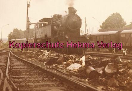 Teutoburger Wald - Gütersloh - Bahnhof Iburg - Sonderzug Lok 223 Erbauer Henschel 1929