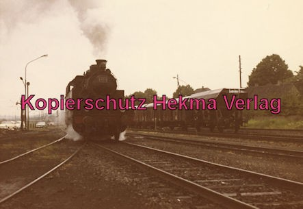 Teutoburger Wald - Gütersloh - Bahnhof Iburg - Sonderzug Lok 223