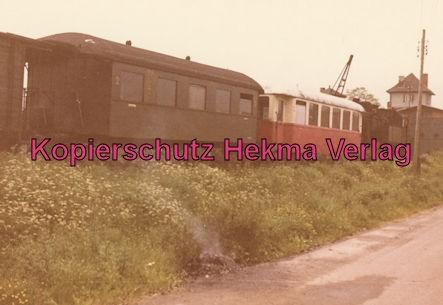 Kassel-Wilhelmshöhe-Naumburg - Bahnhof Naumburg - Abgestellte Personenwagen