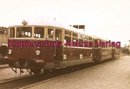 Schleswig - Eisenbahn - Verkehrsbetriebe des Kreises Schleswig - Triebwagenzug