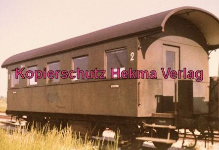 Kiel - Eisenbahn - Schönberger Strand - Personenwagen