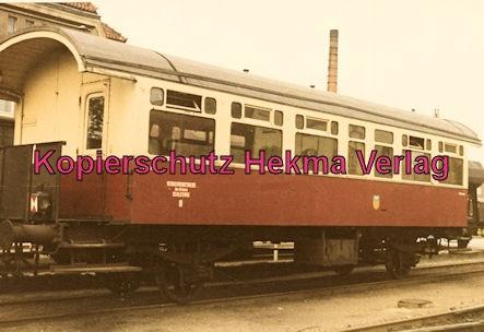 Schleswig - Eisenbahn - Verkehrsbetriebe des Kreises Schleswig - Personenwagen