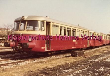 Württembergische Nebenbahn A. G. - Bahnhof Korntal - Dieselzüge