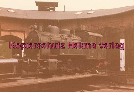 Mindener Kreisbahnen - Bahnhof Minden - Dampflok Borsig Lokomotivwerke Baujahr 1938