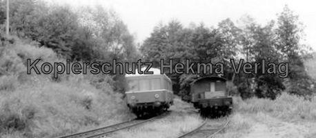 Mosbach Schmalspur-Eisenbahn - Mosbach-Eßlingen - Triebwagen