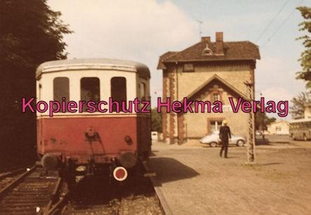 Stadthagener Eisenbahngesellschaft - Bahnhof Rinteln-Nord - Personenwagen
