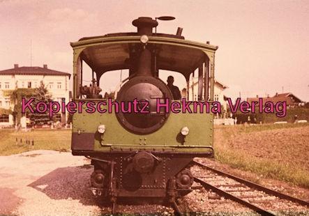 Chiemseebahn - Bahnhof Stock - Wagen