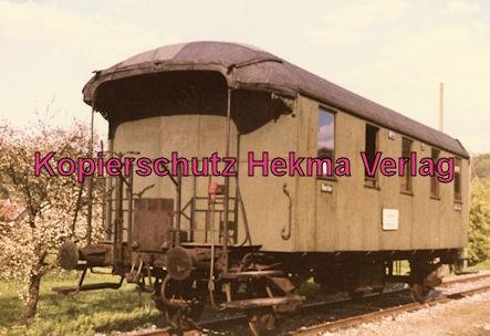 Untergröningen - Württembergische Eisenbahngesellschaft mbH. - Bahnhof Ohrenberg - Personenwagen