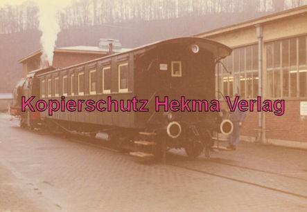 EVS Energieversorgung Schwaben - Marbach - Feuerlose Dampflok - Werkbahn - Die Lok wurde im Werk mit Heißdampf gefüllt.