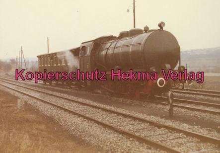 EVS Energieversorgung Schwaben - Marbach - Feuerlose Dampflok - Werkbahn - Die Lok wurde im Werk mit Heißdampf gefüllt