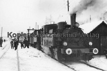 Gammertingen - Hohenzollersche Landeseisenbahn A.G. - Bahnhof Hechingen - Sonderfahrt Lok 11 und 16