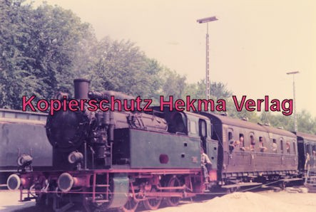 Hamburg Eisenbahn - Hamburg Museumsgelände - Sonderfahrt