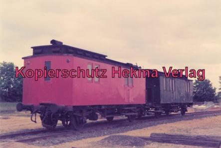 Hamburg Eisenbahn - Bw Kaltenkirchen - Heizwagen, früher Packwagen