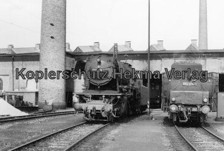 Kaiserslautern Eisenbahn - Bw Kaiserslautern - Lok 023 009-4 und 053 074-1