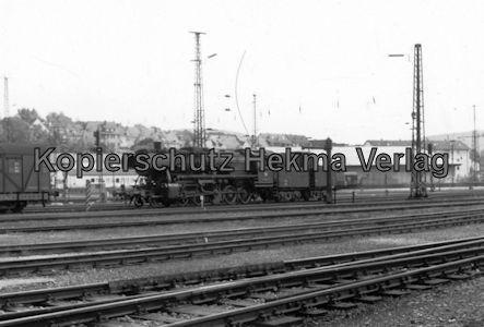 Kaiserslautern Eisenbahn - Bw Kaiserslautern - Dampflok mit Tender
