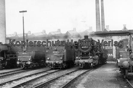 Kaiserslautern Eisenbahn - Bw Kaiserslautern - Lok 063 074-1, 051 689-8, 051 875-3