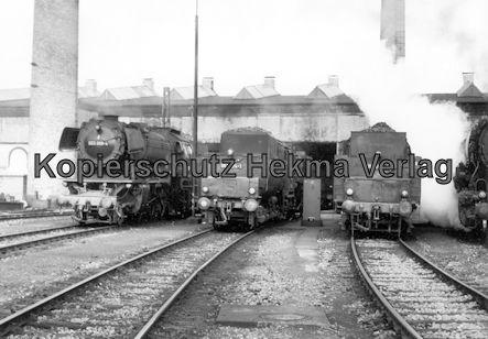 Kaiserslautern Eisenbahn - Bw Kaiserslautern - Lok 023 009-4, 053 074-1, 051 689-8