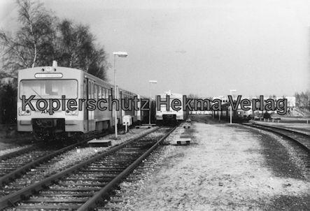 AKN Eisenbahn GmbH - Bw Kaltenkirchen - Triebwagen