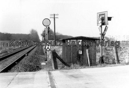 AKN Eisenbahn GmbH - Bahnübergang Stubbenteich