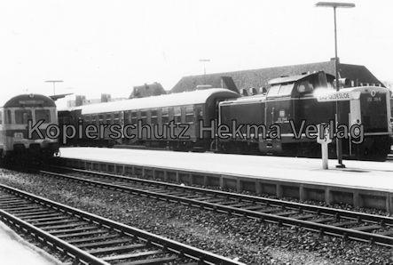 AKN Eisenbahn GmbH - Bahnhof Oldesloe - Diesellok