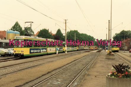 Karlsruhe Straßenbahn - 25 Jahre AVG Jubiläum- Ettlingen Stadt - AVG Züge
