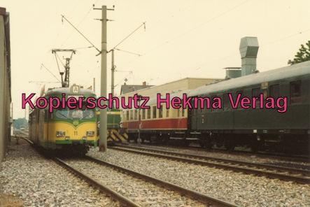 Karlsruhe Straßenbahn - 25 Jahre AVG Jubiläum- Ettlingen Stadt - AVG Wagen 11