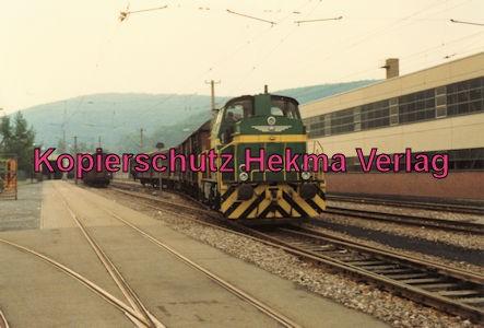 Karlsruhe Straßenbahn - 25 Jahre AVG Jubiläum- Ettlingen Stadt - Depot - AVG Diesellok 63