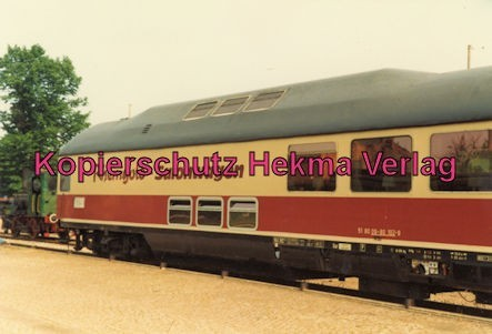Karlsruhe Eisenbahn - Jubiläum 110 Jahre Eisenbahndirektion Karlsruhe - Karlsruhe Durlach - Rheingold-Salon-Wagen 09-80 102-9