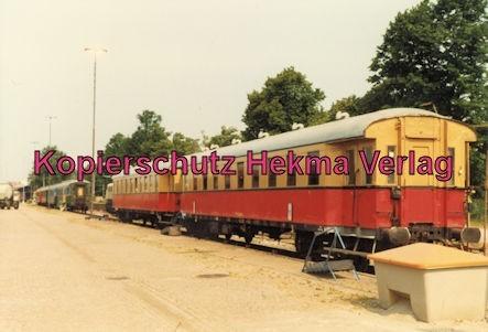 Karlsruhe Eisenbahn - Jubiläum 110 Jahre Eisenbahndirektion Karlsruhe - Karlsruhe Durlach - Modellwagen von MEC Ludwigshafen