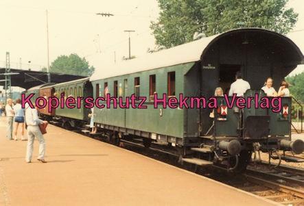 Karlsruhe Eisenbahn - Jubiläum 110 Jahre Eisenbahndirektion Karlsruhe- Karlsruhe Durlach - Sonderfahrten