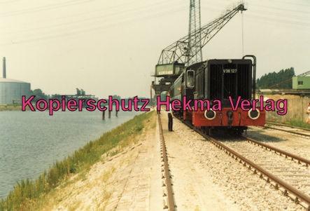Karlsruhe Eisenbahn - Jubiläum 110 Jahre Eisenbahndirektion Karlsruhe - Karlsruhe Rheinhafen - Lok V 36 127