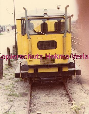 Kiel Eisenbahn - Kieler Hafenbahn - MAK Diesellok