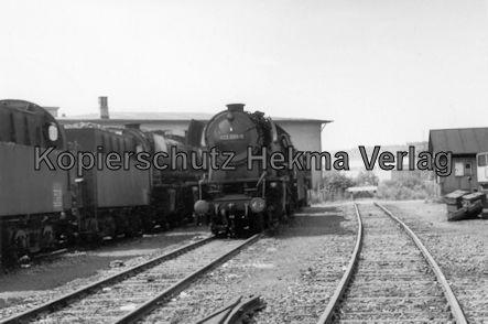 Saarbrücken Eisenbahn - BW Saarbrücken - Lok 023 099-5