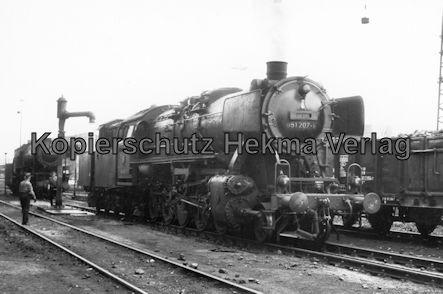 Saarbrücken Eisenbahn - BW Saarbrücken - Lok 051 207-9