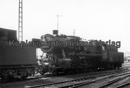 Saarbrücken Eisenbahn - BW Saarbrücken - Lok 051 834-0