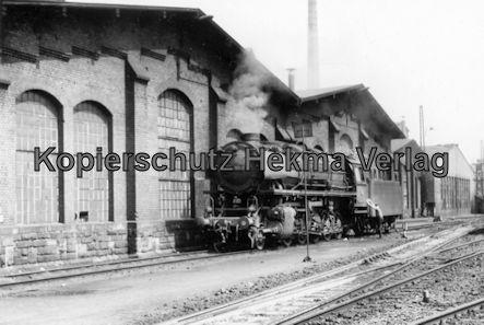 Saarbrücken Eisenbahn - BW Saarbrücken - Lok 044 383-8