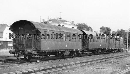 Saarbrücken Eisenbahn - BW Saarbrücken - Personenwagen