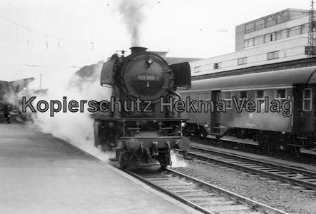 Saarbrücken Eisenbahn - BW Saarbrücken - Lok 023 060-7
