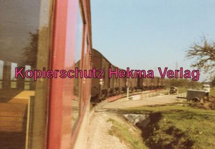 Mittelbadische Eisenbahn A G - Bw. Schwarzach - Zug mit Triebwagen 7