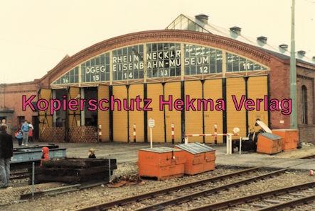 Viernheim Rhein-Neckar DGEG Eisenbahnmuseum - Wagenhalle